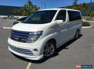 2003 Nissan Elgrand E51 Rider White Automatic 5sp A Wagon for Sale