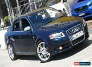 2005 Audi S4 B7 Blue Automatic 6sp A Sedan for Sale