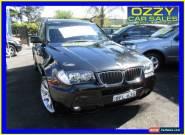 2008 BMW X3 E83 MY07 xDrive 20D Lifestyle Black Automatic 6sp A Wagon for Sale