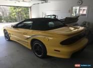 2002 Pontiac Trans Am WS6 for Sale