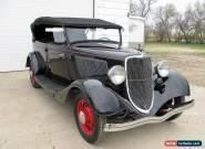 1933 Ford Phaeton for Sale