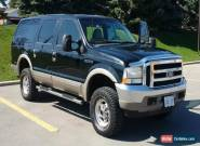2002 Ford Excursion Limited Ultimate for Sale