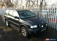 2000 VAUXHALL FRONTERA LIMITED BLUE 4x4  EXPORT SCRAP ? for Sale