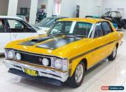1969 Ford Falcon XW GT Manual 4sp M Sedan for Sale
