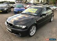 2003 BMW 318I E46 Black Automatic 5sp A Sedan for Sale