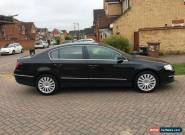 2009/09 VOLKSWAGEN PASSAT HIGHLINE 2.0 TDI 140 4DR BLACK LEATHER H/S 77K FVWSH for Sale