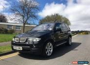 2004 BMW X5 AUTO BLACK 4.8IS + PETROL + 1 OWNER  +  FSH + MOT+ DRIVES EXCELLENT  for Sale