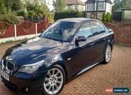 2008 BMW 525D M SPORT BLACK for Sale