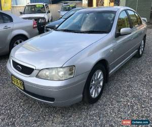 Classic 2005 Ford Falcon BA Mk II XT Silver Automatic A Sedan for Sale
