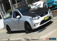 2010 Ford Falcon FG XR8 Silver Manual 6sp M Utility for Sale