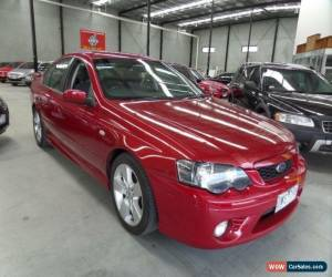 Classic 2006 Ford Falcon BF XR6 Red Automatic 4sp A Sedan for Sale
