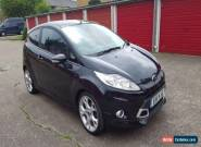 Ford Fiesta Zetec S  1.6 Petrol 2011 Manual 3dr Black 45k miles for Sale