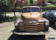 1952 Chevrolet Other Pickups pickup for Sale