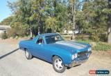 Classic 1971 Chevrolet El Camino Ute, utility not holden, ford, silverado, ranchero  for Sale