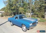 1971 Chevrolet El Camino Ute, utility not holden, ford, silverado, ranchero  for Sale