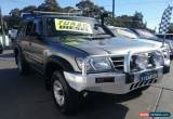 Classic 2002 Nissan Patrol GU III ST (4x4) Silver Manual 5sp M Wagon for Sale
