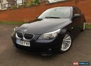 2009 BMW 530D SE LCI DIESEL MANUAL  BLUE ONLY 96,800 MILES,M SPORT,SE for Sale