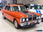 1971 Ford Falcon XY GT Vermillion Red Automatic 3sp A Sedan for Sale