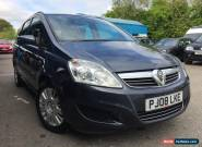 VAUXHALL ZAFIRA 1.8 (PETROL) LIFE AUTOMATIC 7 SEATER NO RESERVE PRICE! for Sale