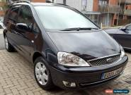 ford galaxy 2.3 16v ghia 2005 manual 5 speed black  for Sale