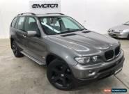 2004 BMW X5 E53 Automatic A Wagon for Sale