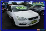 Classic 2006 Ford Focus LS CL White Automatic 4sp A Sedan for Sale