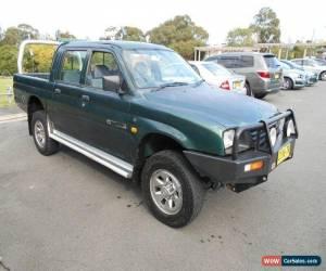 Classic 2001 Mitsubishi Triton MK GLX Green Manual 5sp M Dual Cab Utility for Sale