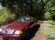 Mercedes Benz 500 SL Convertible 1990 for Sale