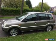 2003 FORD FUSION 2 TDCI SILVER for Sale