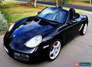 PORSCHE 987 Boxster S 3.2L Black Convertible AUTO for Sale
