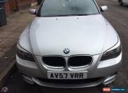 2007 BMW 520D M SPORT SILVER  for Sale