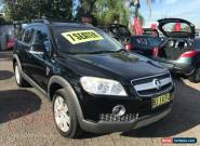 2007 Holden Captiva CG LX (4x4) Black Automatic 5sp A Wagon for Sale