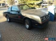 1988 Chevrolet Monte Carlo for Sale