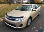 2012 Toyota Camry LE SND I4 for Sale