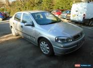 2002 52 VAUXHALL ASTRA 1.6 LS 8V IN SILVER for Sale