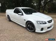 2011 Holden Commodore VE II MY12 SS-V White Manual 6sp M Utility for Sale