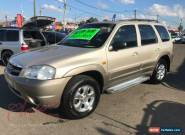 2001 Mazda Tribute Classic Gold Automatic 4sp A Wagon for Sale