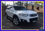 Classic 2013 Holden Captiva CG MY13 7 CX (4x4) White Automatic 6sp A Wagon for Sale