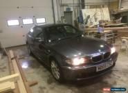 2005 BMW 318 CI ES AUTO GREY for Sale