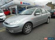 2004 FORD FOCUS GHIA AUTOMATIC  SILVER, 56000 MILES. for Sale