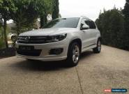 2015 Volkswagen Tiguan 5NC MY16 132 TSI (4x4) White Automatic 7sp A Wagon for Sale