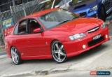 Classic 2004 Holden Commodore VY II SS Red Automatic 4sp A Sedan for Sale