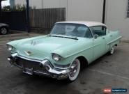 1957 CADILLAC SERIES 62 4 DOOR HARDTOP 365V8 AUTO P/STEERING P/BRAKES  for Sale