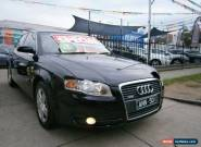 2005 Audi A4 B6 2.0 Black Automatic A Sedan for Sale