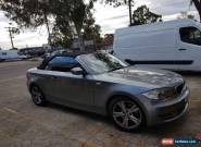 2010 bmw 125i convertable.... 6cyl 3.0L automatic  for Sale