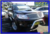Classic 2007 Toyota Hilux KUN26R 07 Upgrade SR5 (4x4) Black Automatic 4sp A for Sale