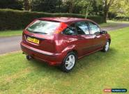 2002 FORD FOCUS 1.8 ZETEC RED for Sale