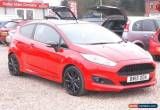 Classic 2015 FORD FIESTA 1.0 EcoBoost 140 Zetec S Red 3dr for Sale