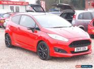 2015 FORD FIESTA 1.0 EcoBoost 140 Zetec S Red 3dr for Sale