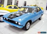 1975 Ford Falcon XB 500 Deep Aqua Automatic 3sp A Sedan for Sale